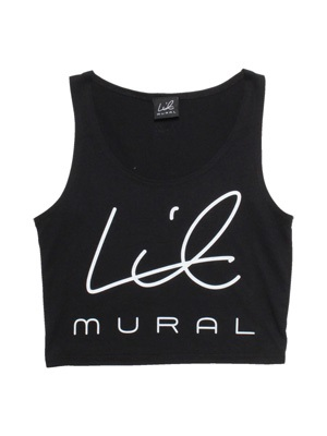 LIL MURAL(リルミューラル)/ LIL CROP TANK TOP -2.COLOR- -Lady's-
