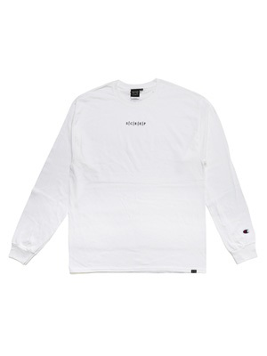 SCREP(スクレップ)/ S|C|R|E|P EMBROIDERY L/S T-SHIRT -3.COLOR-