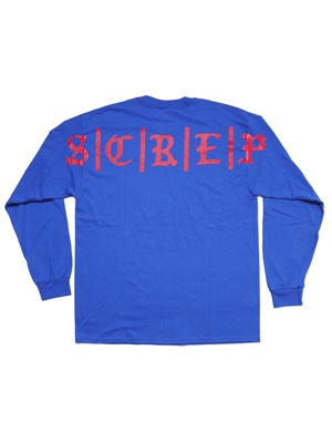 SCREP(スクレップ)/ OLD ENGLISH L/S T-SHIRT -3.COLOR-