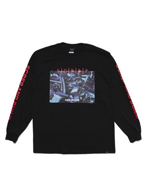 SCREP(スクレップ)/ SCREP AND BUILD L/S T-SHIRT -2.COLOR-