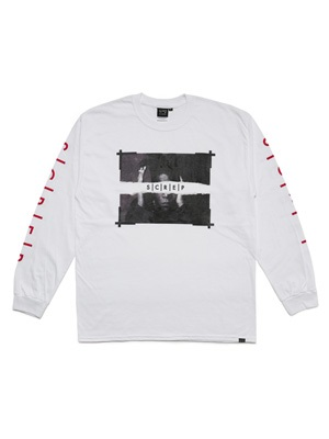 SCREP(スクレップ)/ SAMO L/S T-SHIRT -2.COLOR-