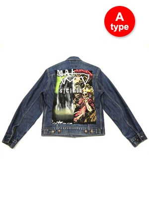 SCREP(スクレップ)/ ROCK REMAKE G-JACKET -Type A-9.COLOR-
