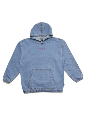 SCREP(スクレップ)/ DENIM  HOODY (EMBROIDERY) -2.COLOR-