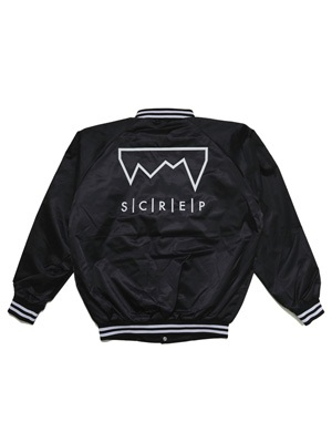 SCREP(スクレップ)/ SATIN STADIUM JACKET -3.COLOR-