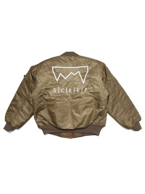 SCREP(スクレップ)/ MA-1 FLIGHT JACKET -3.COLOR-