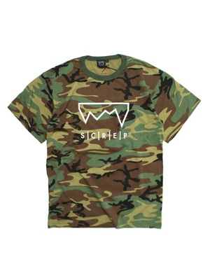 SCREP(スクレップ)/ GRAPPLE CAMO T-SHIRT -CAMO-