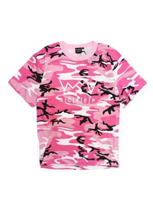 SCREP(スクレップ)/ GRAPPLE CAMO T-SHIRT -PINK-