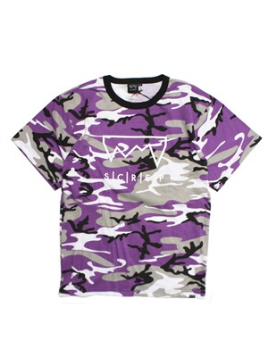 SCREP(スクレップ)/ GRAPPLE CAMO T-SHIRT -PURPLE-
