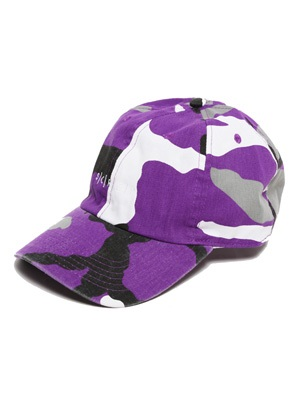 SCREP(スクレップ)/ S|C|R|E|P CAMO LOW CAP -PURPLE-