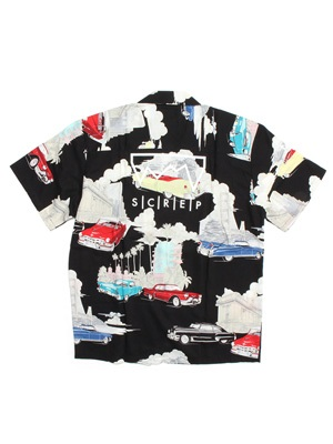 SCREP(スクレップ)/ GRAPPLE ALOHA SHIRTS -COLOR.A-