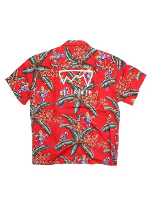 SCREP(スクレップ)/ GRAPPLE ALOHA SHIRTS -RED-