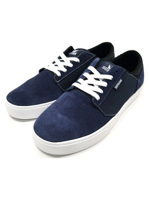 SUPRA(スープラ)/ YOREK LOW -NAVY×WHITE-