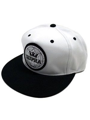 SUPRA(スープラ)/ GEO PATCH SLIDER CAP -2.COLOR-