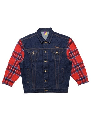 Tome2H(トミトエイチ)/ SWITCH DENIM JACKET -4.COLOR- -Lady's-