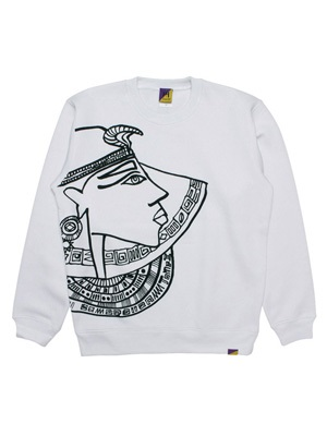 Tome2H(トミトエイチ)/ CLEOPATRA CREW SWEAT -2.COLOR- -Lady's-