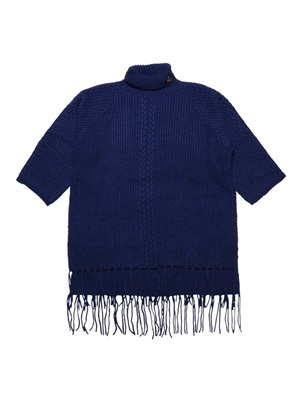 Tome2H(トミトエイチ)/ HIGH NECKED FRINGE KNIT -3.COLOR- -Lady's-