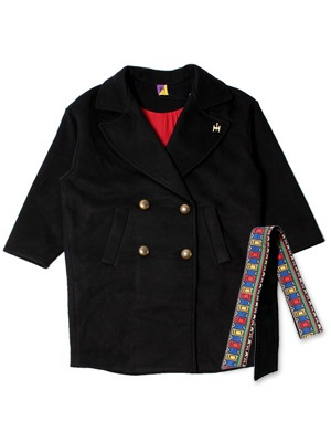 Tome2H(トミトエイチ)/ WOOL BELT COAT -3.COLOR- -Lady's-