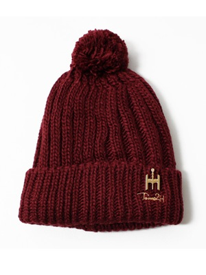 Tome2H(トミトエイチ)/ POM POM KNIT CAP -5.COLOR- -Lady's-