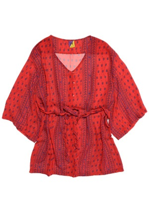Tome2H(トミトエイチ)/ BOHO CHIFFON BLOUSE -3.COLOR- -Lady's-