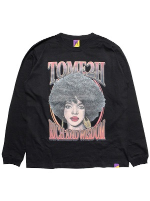 Tome2H(トミトエイチ)/ THE MISEDUCATION L/S T-SHIRT -2.COLOR- -Lady's-