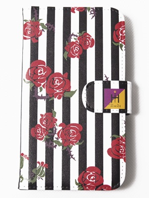 Tome2H(トミトエイチ)/ ROSES STRIPES SMART PHONE CASE -3.COLOR- -Lady's-