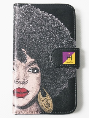 Tome2H(トミトエイチ)/ THE MISEDUCATION SMART PHONE CASE -BLACK- -Lady's-