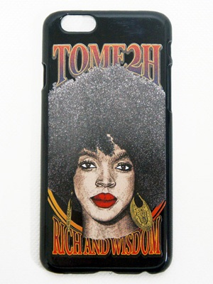 Tome2H(トミトエイチ)/ THE MISEDUCATION iPhone CASE (HARD) -BLACK- -Lady's-