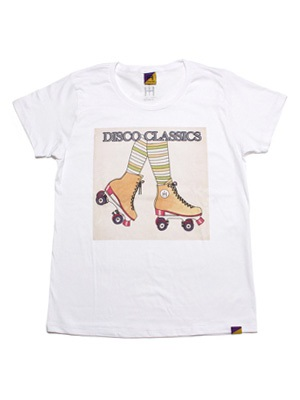 Tome2H(トミトエイチ)/ DISCO CLASSICS T-SHIRT(LADY) -2.COLOR- -Lady's-