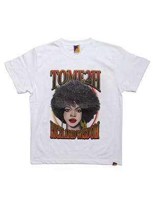 Tome2H(トミトエイチ)/ THE MISEDUCATION T-SHIRT -2.COLOR- -Lady's-