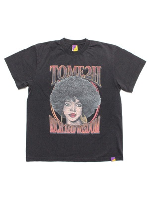Tome2H(トミトエイチ)/ THE MISEDUCATION T-SHIRT(USED) -Lady's-