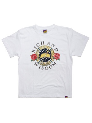 Tome2H(トミトエイチ)/ MEDAL&ROSES T-SHIRT -2.COLOR- -Lady's-