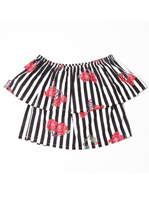 Tome2H(トミトエイチ)/ ROSES STRIPES OFF SHOULDER -3.COLOR- -Lady's-