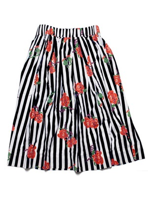 Tome2H(トミトエイチ)/ ROSES STRIPES SKIRT -3.COLOR- -Lady's-