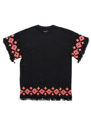 Tome2H(トミトエイチ)/ NATIVE FRINGE T-SHIRT -4.COLOR- -Lady's-