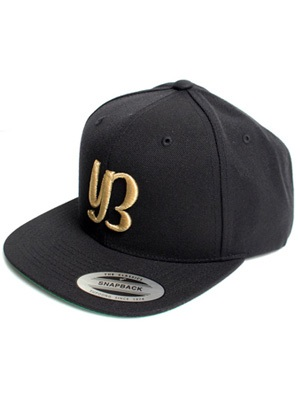 YARD BEAT CAP -BLACK×GOLD-