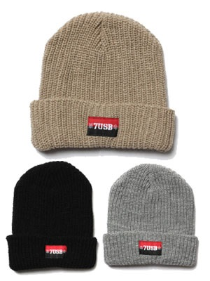 7UNION(セブンユニオン)/ THE KAKUMEI BEANIE -3.COLOR-
