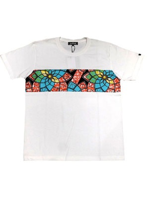 AnSWeR(アンサー)/ FLOWER AFRICAN ONE BORDER T-SHIRT -2.COLOR-