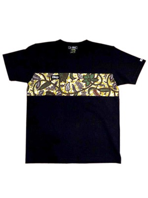 AnSWeR(アンサー)/ ×PETER MAN-BLAPANESE-AFRICAN ONE BORDER T-SHIRT -2.COLOR-