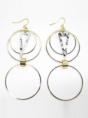 BOW(ボウ)/ DOUBLE HOOP PIERCE -Lady's-