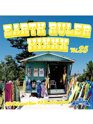 【CD】EARTH RULER MIXXX vol.25 -mixed by ACURA from FUJIYAMA-