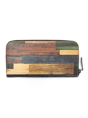 FITNESS(フィットネス)/ WOOD CAMO LONG WALLET