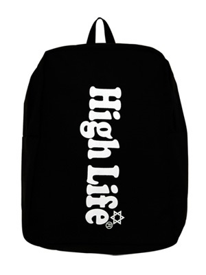 High Life(ハイライフ)/ MAIN LOGO BACKPACK -2.COLOR-