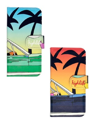 High Life(ハイライフ)/ SUNSET DRIVER iPhone COVER -2.COLOR-