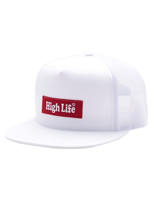 High Life(ハイライフ)/ BOX LOGO 5PANEL MASH SNAPBACK CAP -3.COLOR-