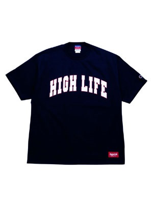 High Life(ハイライフ)/ × CHAMPION COLLEGE TEE -2.COLOR-