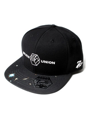 7UNION(セブンユニオン)/ SPACE JAM CAP -BLACK-