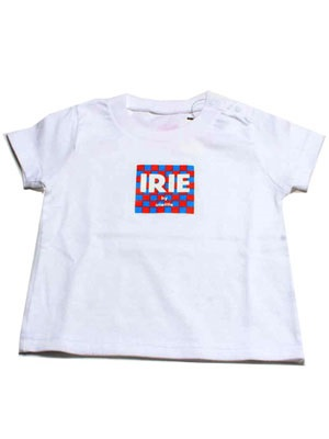 IRIE by Irie Life(アイリーバイアイリーライフ)/ CHECKER FLAG LOGO KIDS TEE -KIDS- -3.COLOR-