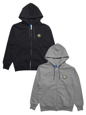 IRIE LIFE(アイリーライフ)/ LAUREL ZIP UP HOODIE -2.COLOR-