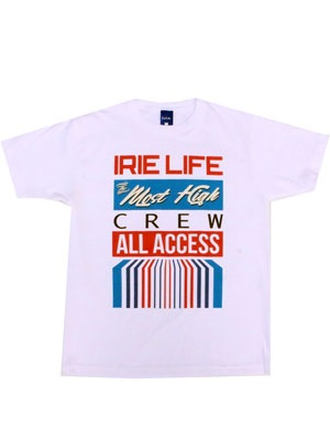IRIE LIFE(アイリーライフ)/ ALL ACCESS TEE -2.COLOR-