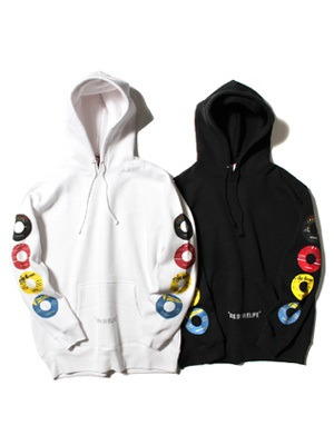 IRIE by irielife(アイリーバイアイリーライフ)/ RECORD LABEL HOODIE -2.COLOR-